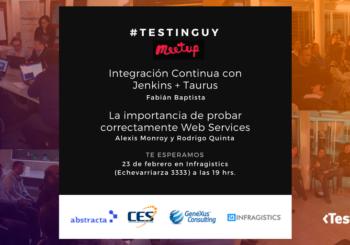 Meetup de TestingUy – Febrero 2017