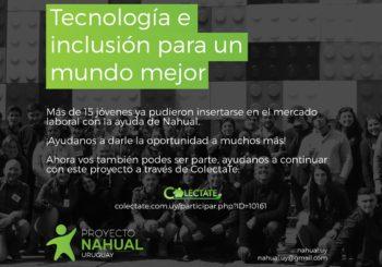 Nahual necesita apoyo para seguir su formación de jóvenes en TICs