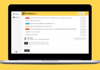 Review de TestNote.io