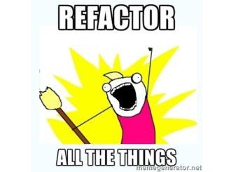 Sobre estimación considerando refactoring