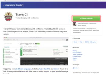 Travis-CI para integración continua