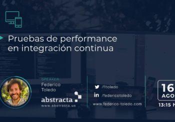 Foro Tecnológico de Salto: Pruebas de performance en CI/CD