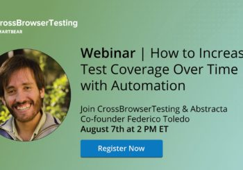 Próximamente, Webinar: How to Increase Test Coverage Over Time with Automation