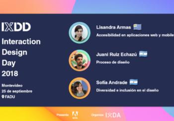 Charla: Accesibilidad en aplicaciones web y mobile (IxDA Montevideo)