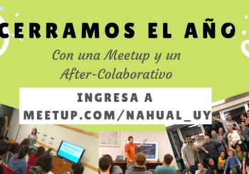 Meetup de Nahual con After Colaborativo para cerrar el 2018